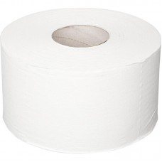 Туалетная бумага Plushe Professional с перф.вт.60мм, 150м, белый,вост.цел.2сл,12рул в уп