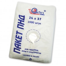 Пакет ПНД 24х37, 8 мкм, EXTRA, 1000шт