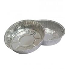 Алюминиевая форма круглая  720мл, d185x45, 100 шт