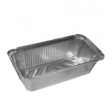 Алюминиевая форма прямоугольн. 850мл, 220x120х60, 100 шт