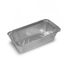 Алюминиевая форма прямоугольн. 1000мл, 215х160х55, 100 шт