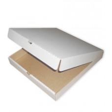Коробка под пиццу бел/бур 300х300х40мм б/печ.