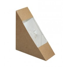 Упаковка-уголок для сэндвича 40мм (125*125*40)