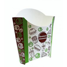 Коробка для картофеля фри 100г,