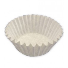 Капсула бумажная тарталетка d35 h22.5 белая, 50 шт
