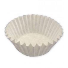 Капсула бумажная тарталетка d40 h25 белая, 50 шт