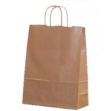 Пакет крафт с кручеными ручками, 260*150*350