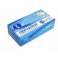 Перчатки винил. неопудр  (L), 100 шт/упак